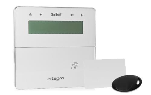 Bezprzewodowy manipulator LCD z funkcją obsługi transponderów 125kHz.