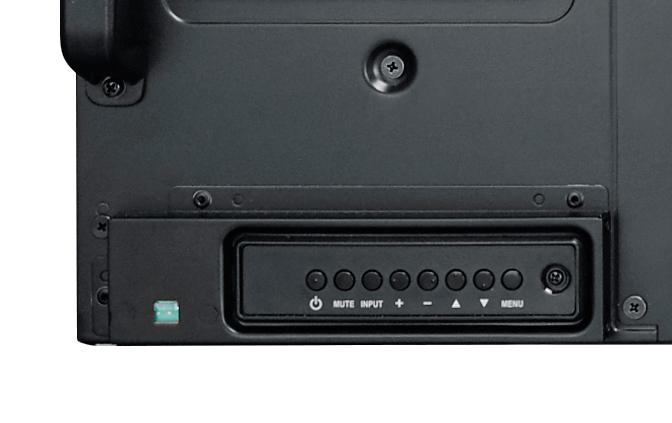 Tylni pulpit sterowniczy monitora PM65.