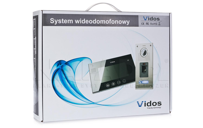 M320 - Opakowanie monitora do wideodomofonu.