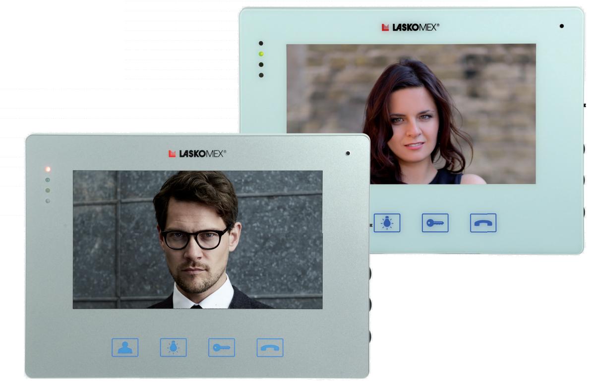 MVC8150 - Dostępne warianty kolorów monitora.