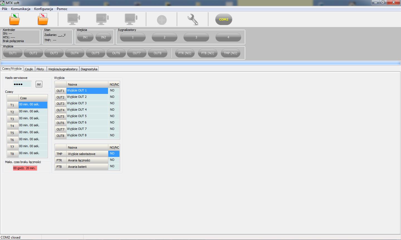 Przejrzysty interfejs oprogramowania SmartPSS.