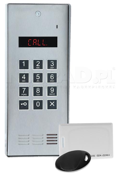 CD2600R - Panel z wbudowanym czytnikiem RFID.