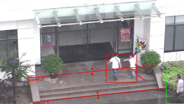 Wykrywanie obiektu przekraczającego granice ochranianej strefy - Perimeter Protection