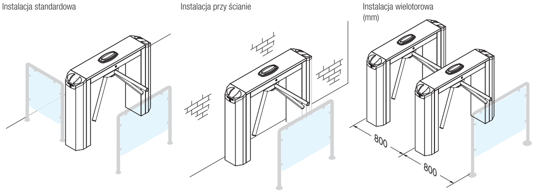 Twister - przykładowe instalacje.