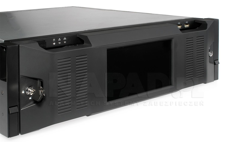 BCS-NVR25624DR - Przedni panel rejestratora.