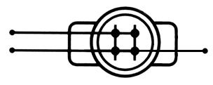 Schemat połączeniowy szybkozłącza UG-P100.
