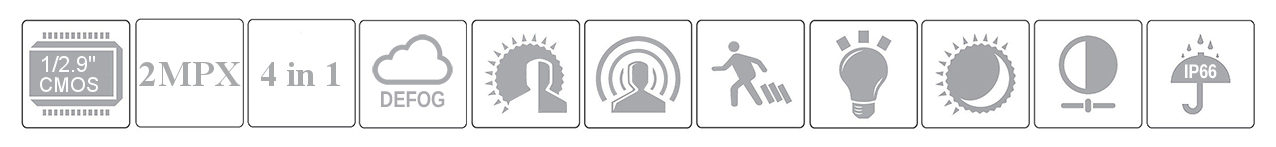 PX-DWVH2030 - Wybrane cechy i własności kamery.