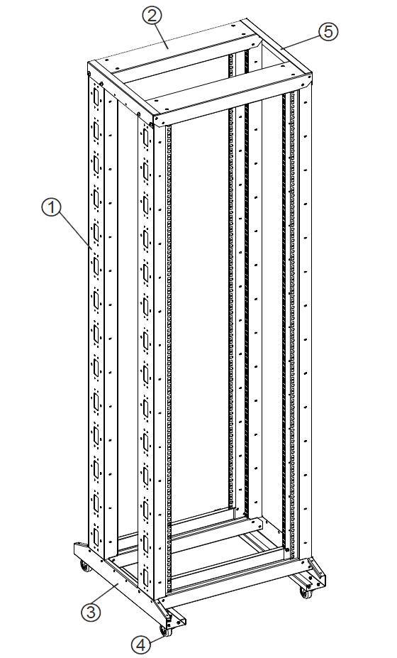 Budowa stojaka RACK