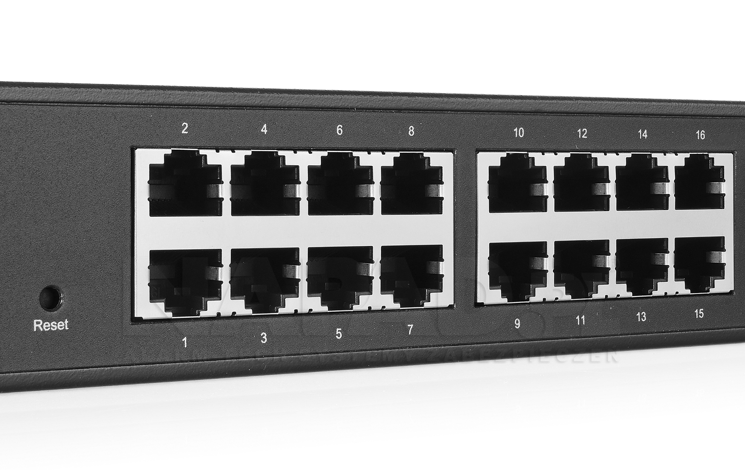 TLSG2424 - Porty ethernet w switchu.