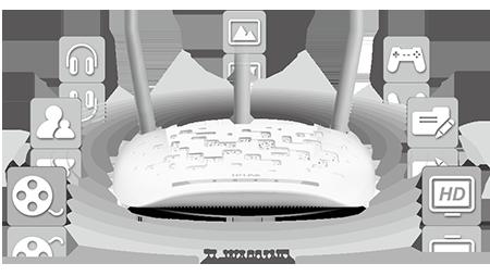 TL-WA901ND - Praca w standardzie IEEE 802.11n.