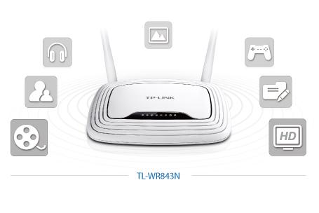 TL-WR843ND - Ogromne zastosowanie routera.