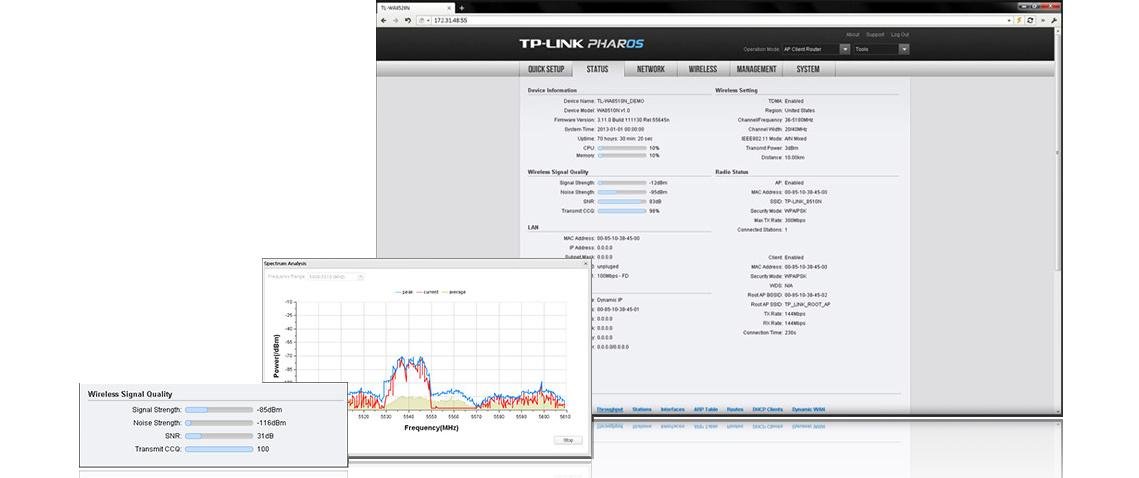 Tp Link CPE_210 - PharOS