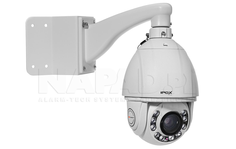 DH-PFA151 - Przykładowa instalacja uchwytu z kamerą IPOX.