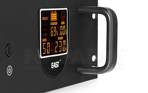 Front panel zasilacza UPS650 R Line interactive