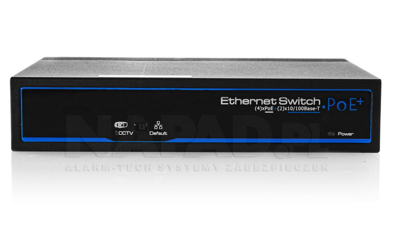 Panel przedni switcha PX-SW4-P60-U2.