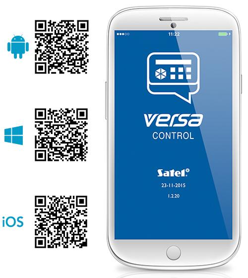 Aplikacja mobilna VERSA CONTROL.