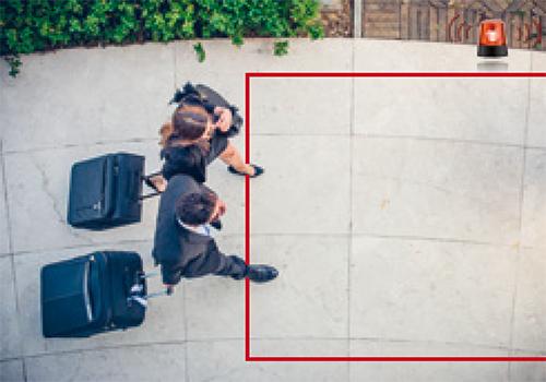 Hikvision - Inteligentne rozpoznawanie wkroczenia do strefy.