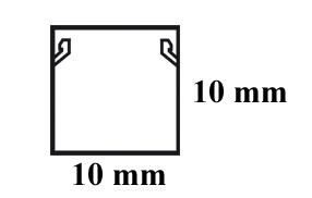 Wymiary listwy elektroinstalacyjnej 10x10.