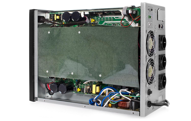 Zasilacz AT UPS3000LCD z akumulatorami