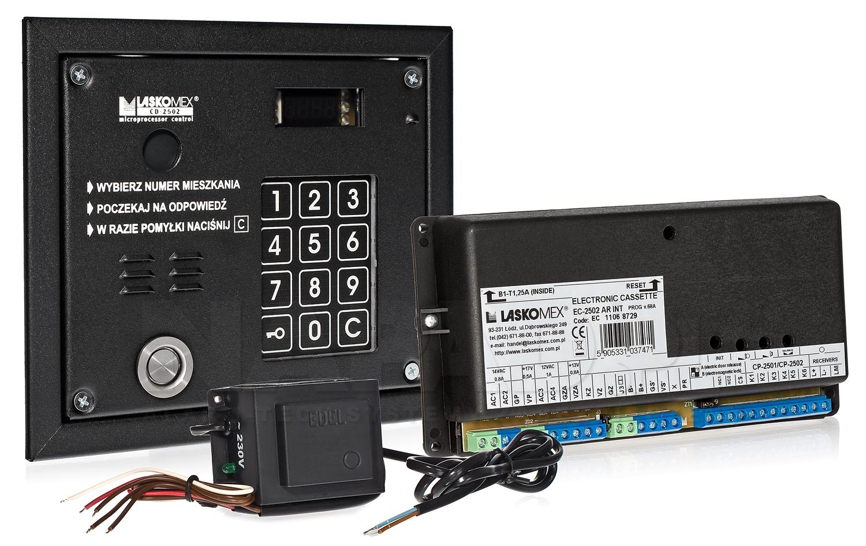 CD3133NR - Przykład systemu domofonowego Laskomex.