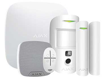 Bezprzewodowy system alarmowy AJAX z funkcjami Smart Home