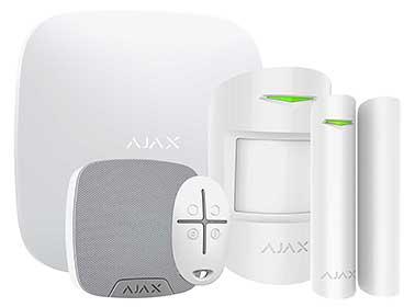 Zestaw bezprzewodowego systemu alarmowego AJAX