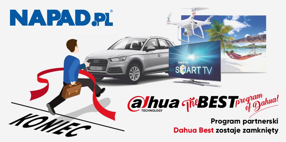 Zamknięcie programu lojalnościowego Dahua BEST