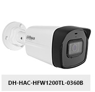 Kamera Analog HD 2Mpx DH-HAC-HFW1200TL-0360B.
