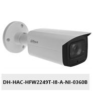 Kamera Analog HD Full-Color 2Mpx DH-HAC-HFW2249T-I8-A-NI-0360B