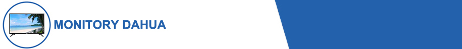 Lista monitorów Dahua w wrześniowej promocji 2020.