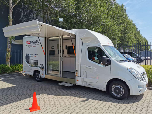 Mini-Truck Hikvision.