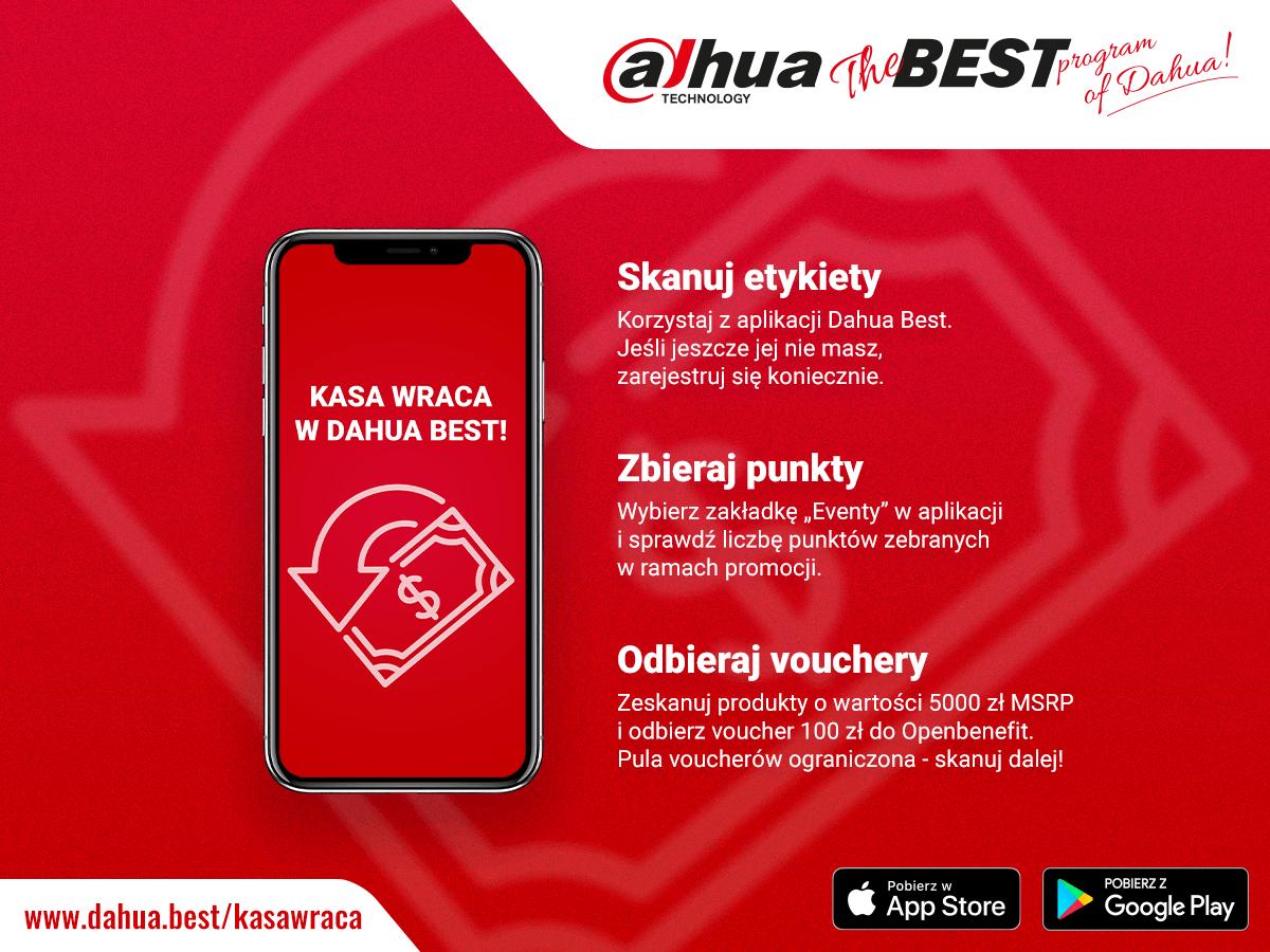 Dahua Best - Kasa wraca