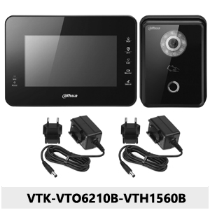Zestaw wideodomofonowy IP VTK-VTO6210B-VTH1560B.