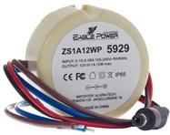 Zasilacz stabilizowany impulsowy ZS1A12WP 1A/12V.