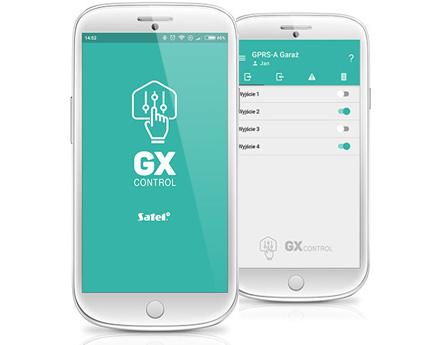 Aplikację GX CONTROL.