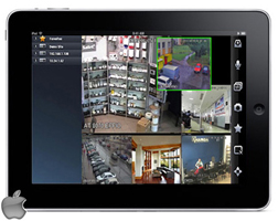 Aplikacja iDMSS na iPad