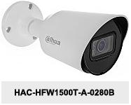 Kamera Analog HD 5Mpx DH-HAC-HFW1500T-A-0280B.
