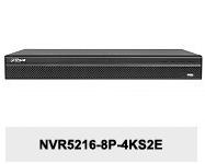 Rejestrator sieciowy DHI-NVR5216-8P-4KS2E