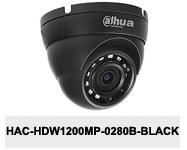 Kamera Analog HD 2Mpx DH-HAC-HDW1200MP-0280B-BLACK.