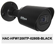 Kamera Analog HD 2Mpx DH-HAC-HFW1200TP-0280B-BLACK.