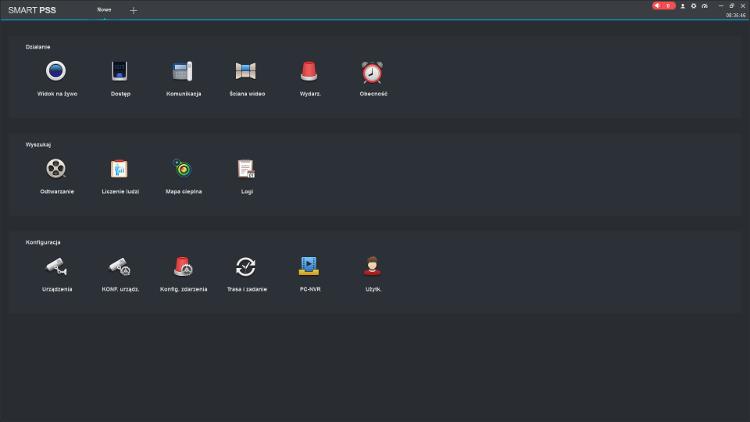 Smart PSS - interfejs