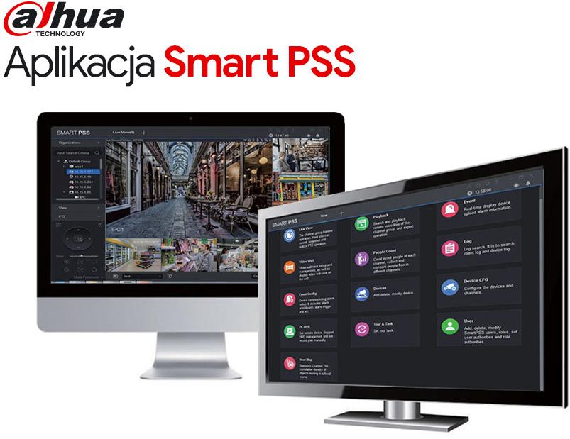 Aplikacja kliencka Dahua - Smart PSS