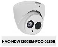 Kamera Analog HD 2Mpx DH-HAC-HDW1200EM-POC-0280B.