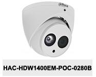 Kamera CVI 4Mpx DH-HAC-HDW1400EM-POC-0280B.