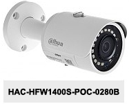 Kamera CVI 4Mpx DH-HAC-HFW1400S-POC-0280B.