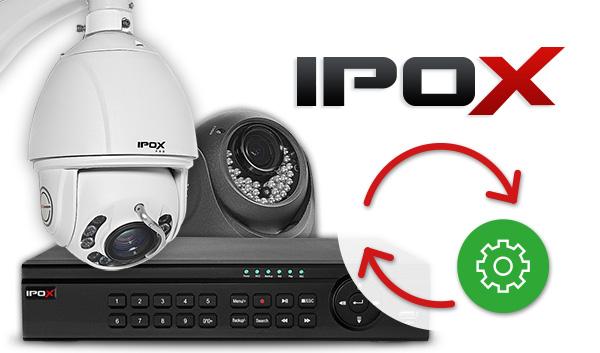 Kamery i rejestratory marki IPOX