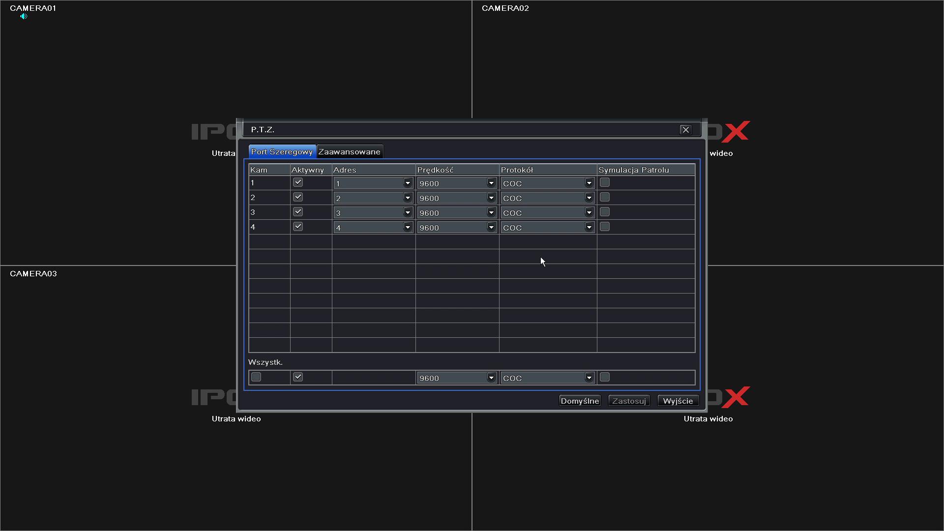 Zdalny dostęp do menu OSD w kamerach HD-TVI