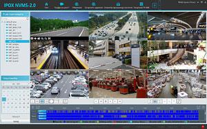 Interfejs aplikacji IPOX NVMS 2