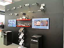 Canon at Securex 2016 fair