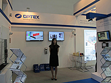 Optex na targach Securex 2016